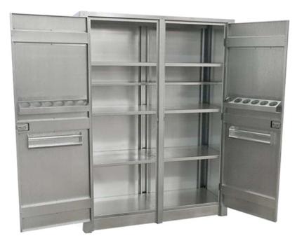 Lemari cabinet Stainless Steel - Lukman.co.id